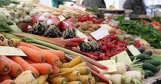 Obst und Gemüse Einkaufskalender - saisonal und regional