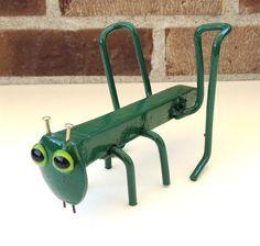 Recycled Metal Garden Art Sculpture From Found by ArtByBurton, $22.00