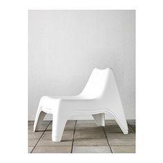 IKEA PS VÅGÖ Easy chair, white - white - IKEA