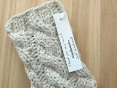 Knitted Boot Cuffs - Smoke Gray Knit Boot Cuffs - Leg Warmers - Boot Toppers - Knit Boot Socks