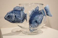Tasha Lewis, cyanoskin sculpture