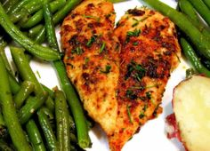 Magpie's Recipes: Today's dinner-Easy Baked Chicken
