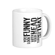 letter, mugs
