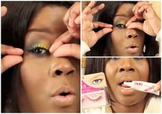 Apply Fake Lashes in 10 seconds. BOOP BOOP|survivingbeauty2