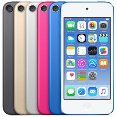 "iPod touch (2015) - space gray, gold, silver, pink, blue or Product Red (A8 (iPhone) chip, 4"" Retina Display, 8 MP Camera, and Access to Apple Music Streaming - Now up to 128 GB). Essentially Mostly an iPhone without Cell Service."