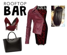 """""""Roof top bar contest"""" by lovefashion12321 ❤ liked on Polyvore featuring Karen Millen, Michael Antonio, Barbour International, Givenchy, summerdate and rooftopbar"""