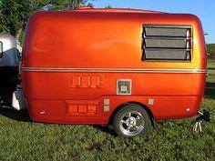 Sleek rust trillium. hot colour!