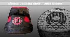 North American distributor of the revolutionary Equine Jogging Shoe - money back satisfaction guarantee