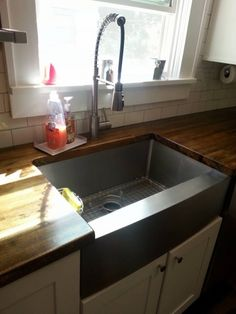 Under mount stainless steel apron sink