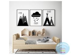 Excited to share this item from my shop: Black and White Nursery - Wall art - Modern Nursery decor - Nursery wall art Modern Nursery Decor, Baby Nursery Furniture, Nursery Themes, Nursery Wall Art, Girl Nursery, Nursery Ideas, Black White Nursery, White Kids Room, Black And White Boys Bedroom