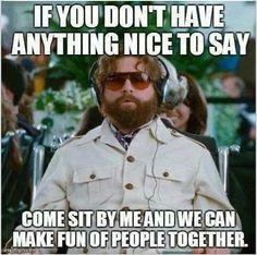 Zach Galifianakis :) This is hilarious!