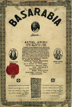 Actul unirii Basarabiei cu România ANR, Fond Președinția Consiliului de Miniștri, dosar 34/1918, 1
