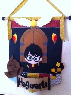 Harry Potter felt art