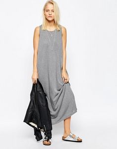 ASOS Casual Maxi Dress with Split Sides