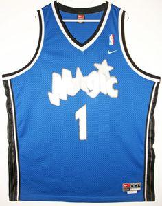 Nike NBA Basketball Orlando Magic #1 Tracy McGrady Trikot/Jersey Size 52 - Größe XXL - 69,90€ #nba #basketball #trikot #jersey #ebay #sport #fitness #fanartikel #merchandise #usa #america #fashion #mode #collectable #memorabilia #allbigeverything