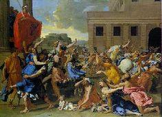 sabijnen | De roof van de SabijnseMaagden (Nicolas Poussin,Metropolitan Museum of ...