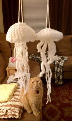 Ravelry: lhgou's Jellyfish Ornaments