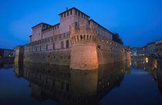 Rocca Sanvitale (Sanvitale Castle), Fontanellato, Emilia-Romagna, Italy (XII-XVI sec. - 12th-16th c. AC)