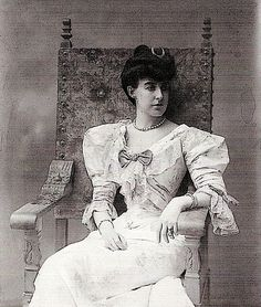 Princess Hélène d'Orléans-Aosta born 1871 died 1951 married 1895 Emanuele Filiberto Pr of Savoy, Duke of Aosta (Genoa 13 Jan 4 Jul Capodimonte Oct 1936 Oddone Campini (Brusasco 2 Sep 7 Jul French Royalty, 1890s Fashion, Royal Crowns, Tiny Waist, Tent Camping, Camping Tips, Grand Duke, Women In History, My Princess