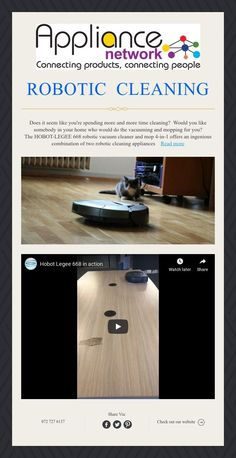 ROBOTIC CLEANING