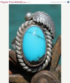 35% OFF Vintage Navajo Style Sterling Silver by Yourgreatfinds