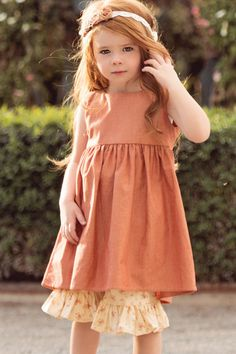Pink Alice Apron Dress | Girls Apron Dress - Persnickety Clothing