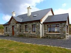 Holiday Cottages Lacken, Mayo | Self Catering Ireland Holiday Homes 11517 Irish Cottage, Old Cottage, Cottage House Plans, Cottage Homes, Ireland Holiday, Bungalow House Design, Exterior Design, Cottages, My House