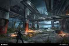 50+ Concept Art made for Titanfall 2