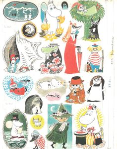 The history of Moomin mugs by Arabia, part 4 – the first character mug designs weren't approved for production - Moomin Moomin Tattoo, Storyboard, Moomin Mugs, Moomin Valley, Tove Jansson, Matte Painting, Illustration Sketches, Fashion Illustrations, Mug Designs