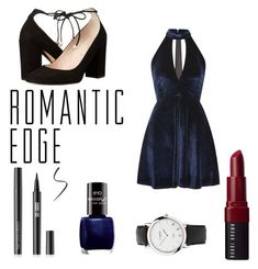 """Romantic Edge"" by th3futur3isf3mal3 on Polyvore featuring Oh My Love, Links of London, Bobbi Brown Cosmetics and Kate Spade"