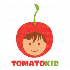 #Tomato #Kid #Logo - DesigneyWorld.com