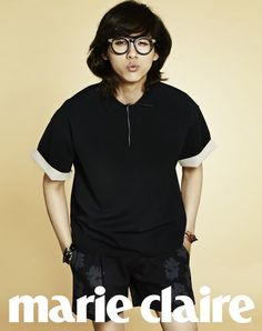 B1A4's CNU // Marie Claire // May 2013