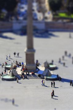 I love tiltshift photos!  They make everything look like a toy world - fun fun fun.