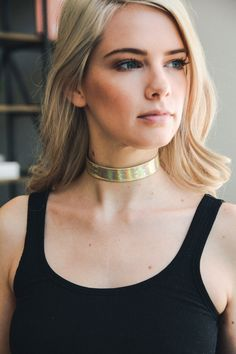 leto wholesale iridescent silver choker necklace cute fashion