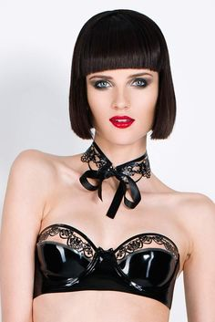 tres bonjour - Latex Haute Couture & Lingerie from Berlin