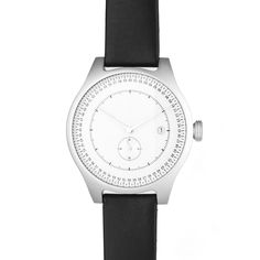 squarestreet Watch - Aluminium - Silver/Off White/Black