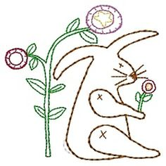 Spring Bunny Sampler - 4x4 | Spring | Machine Embroidery Designs | SWAKembroidery.com HeartStrings Embroidery
