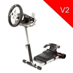 Volante Wheel Stand Pro Racing Steering Wheel Stand for Mad Catz Wireless and Force Feedback Wheels #Volante #Wheel Stand