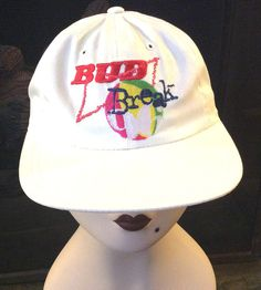 c14b0bb39f5 Vintage Retro 96 Bud Break Baseball Hat Cap Budweiser Beer Snap Back