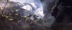 'Anthem' is BioWare's brand-new open world The team behind Mass Effect has something new up its sleeves. BioWare today revealed Anthem a new open-world franchise seemingly set in a futuristic jungle-ridden universe. The teaser shows a mech of some kind and a big beastie screeching into the lush wilderness. It definitely has Destiny Star Wars and Far Cry vibes.  It is vast dangerous beautiful and unexpected EA executive vice president Patrick Soderlund said.  BioWare will reveal more details…