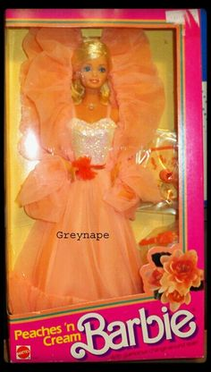 Peaches 'n Cream Barbie...oh, how I loved thee!  :-)