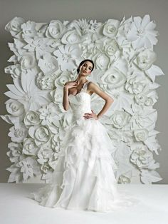 The Daily Dress: think Hollywood glam with this Heritage Bridal #wedding gown http://www.weddingandweddingflowers.co.uk/article.php?id=245=1=1306