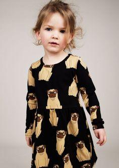Dit doet me denken aan de jurk met verkeersborden (.. ) die mijn oma vroeger voor me gemaakt had (en ik pérse níet aan wilde..) Mini Rodini AW 14
