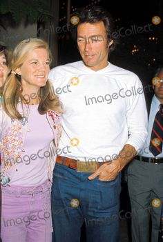 Clint Eastwood Wife Maggie | Clint Eastwood Picture - Archival Pictures - Globe Photos - 67722