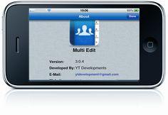 Gestiona los contactos de tu iPhone con Multi Edit Contacts Manager