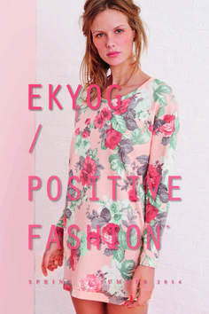 Page 1 - Look Book PE14 EKYOG  modepositive  green  spring  summer   collection2014 b4f0b32cd23