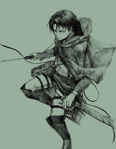 Levi Rivaille Eren E Levi, Eren And Mikasa, Levi Ackerman, Anime Guys, Manga Anime, Captain Levi, Rivamika, Attack On Titan Levi, Ereri