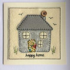 Happy Home Card - Grey £5.00