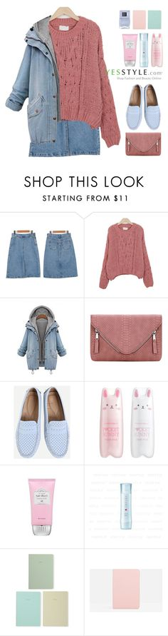 """""""yesstyle Contest"""" by sugar-queen-341 ❤ liked on Polyvore featuring Tony Moly, Missha, Kanebo, Polite, Marc Jacobs and Nails Inc."""
