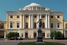 Pavlovsk Palace, Pavlovsk, 1786. by Charles Cameron.